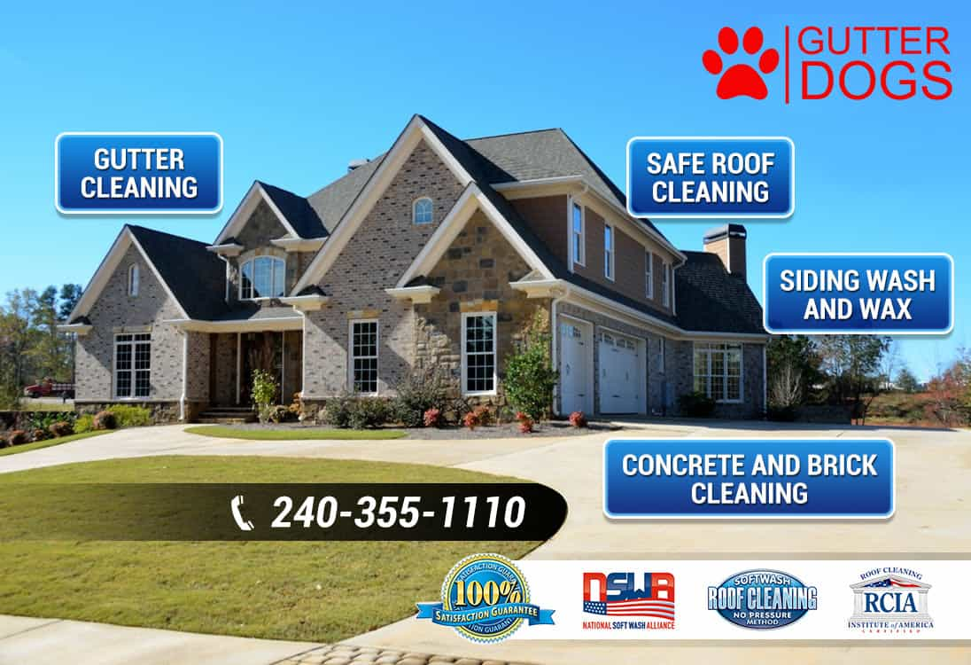 Affordable Roof Cleaning Soft Power Washing PG & Southern Maryland