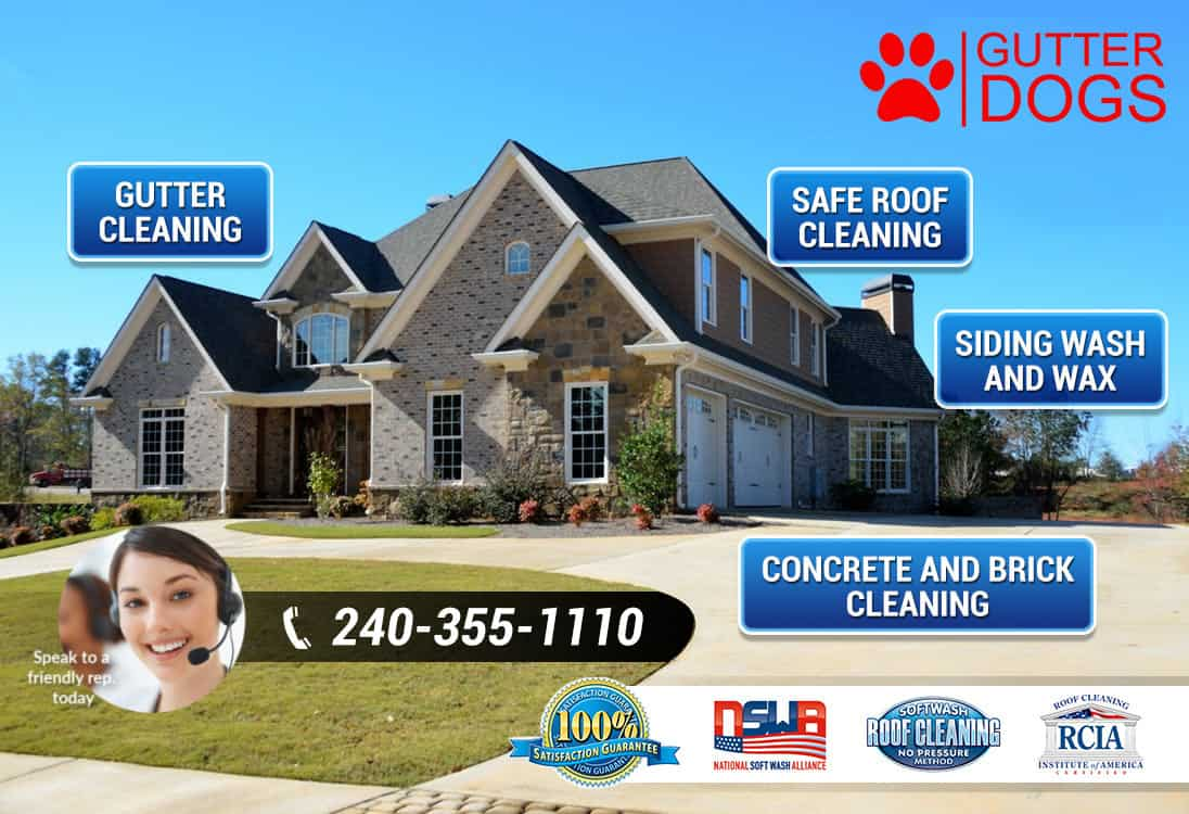 House Washing Service Southern Maryland Gutterdogs